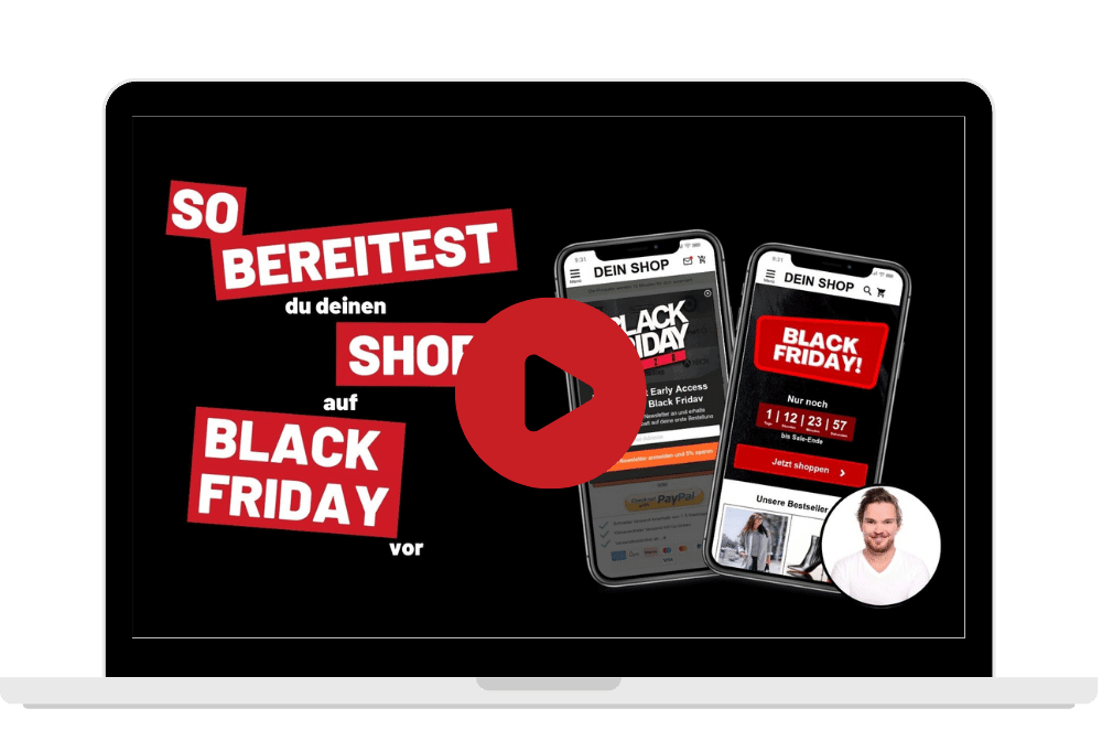 So bereitest du deinen Onlineshop auf Black Friday vor